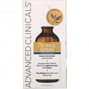 Advanced Clinicals. Retinol Serum. Anti-Wrinkle. 1.75 fl oz (52 ml)