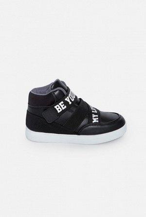 Ботинки для мальчиков Roiboos черный