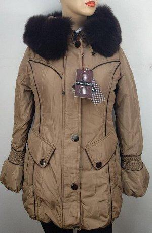 Куртка Куртка теплая, натуральный мех на капюшоне, отстегивается. Капюшон не отстегивается.