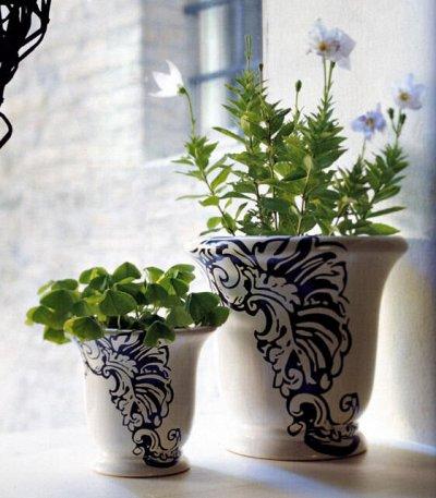 №91 Любителям сада и цветов. Новинки! — Кашпо 2.5-3 литра — Садовый декор