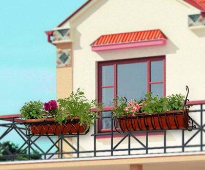 №91 Любителям сада и цветов. Новинки! — ЯЩИК Б для балконов и цветов — Садовый декор