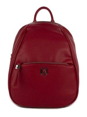 LACCOMA рюкзак 1017-тёмно-красный искусственная кожа полиэстр