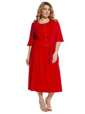 Платье 2052 красный