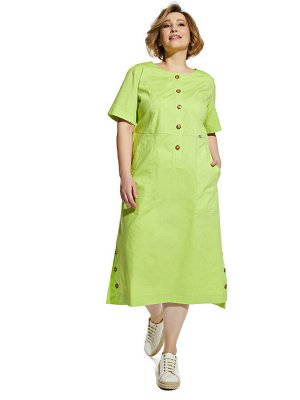 Платье 2054 салатовый