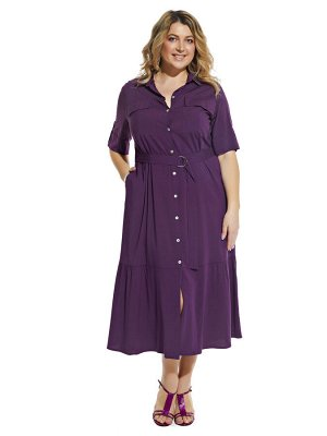 Платье 2058 фиолет