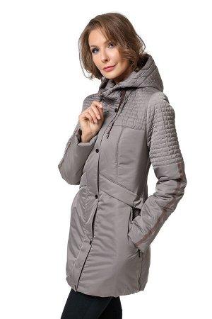 """Куртка """"Дейна"""" серо-коричневый"""