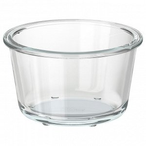 ИКЕА/365+ Контейнер для продуктов, круглой формы, стекло, 600 мл