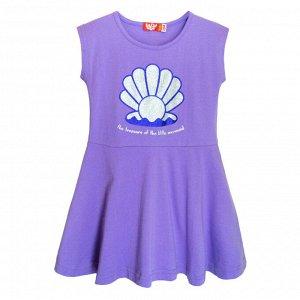 81109/сиреневый Платье для девочки