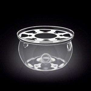 WILMAX Thermo Glass Подставка для подогрева 11х7,5см WL-888901/A