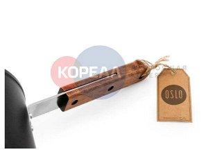 Кастрюля Oslo IH 18 см для индукционных плит с крышкой