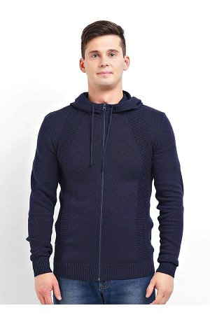 #91399 Куртка меланж т.синий