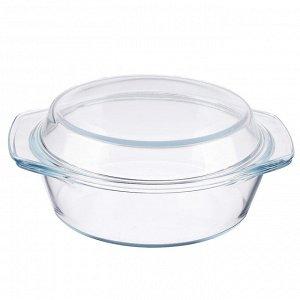 Противень Противень стеклянный с крышкой. Подходит для духовки, СВЧ, холодильника, посудомоечной машины Размер : диаметр 20 см, высота чашки 6,5 см, высота чаши с крышкой 10 см