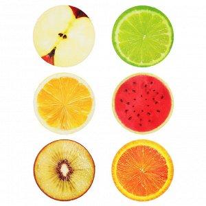 LASTIKS Мялка в виде половинки фрукта, ПУ, 10х5см, 4-6 дизайнов
