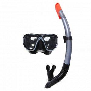 Набор для плавания Black Sea, для взрослых, маска, трубка, цвета МИКС, 24021 Bestway