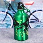 Бутылка для воды «Extreme», с велосипедным держателем, 400 мл