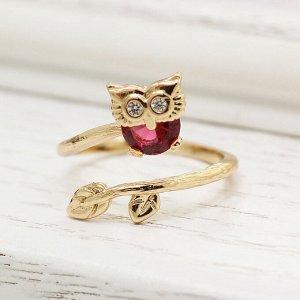 Кольцо Покрытие: Золото; Пол: Женский; Размер кольца: 17; Цвет и оттенок: Розовый; Камни вставки: Цирконы; Материал: гипоаллергенный ювелирный сплав Красивые кольца с благородными цирконами изготовлен