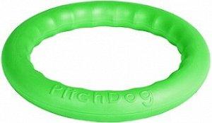 PitchDog 20 - Игровое кольцо для апортировки d 20 зеленое