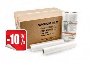 Коробка вакуумной пленки 28х500 см. (28 вакуумных рулонов)