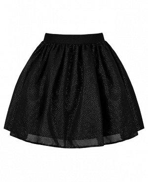 Чёрная юбка для девочки 84331-ДНШ20