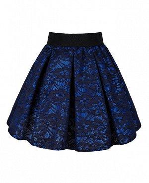 Синяя юбка для девочки 83303-ДНШ19