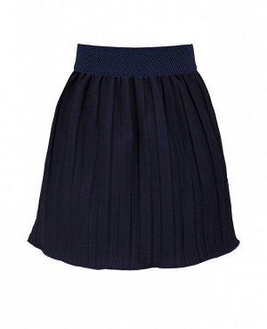 Школьная синяя юбка для девочки 82951-ДШ19