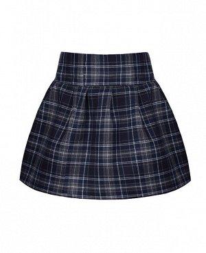 Школьная юбка для девочки в клетку 71735-ДШ19