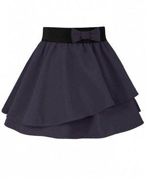 Серая юбка для девочки 83333-ДШ20