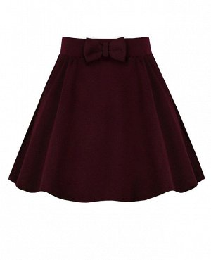 Бордовая юбка для девочки 79064-ДШ19