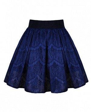 Синяя юбка для девочки 83302-ДНШ19