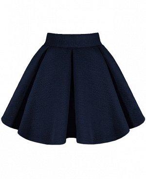 Школьная синяя юбка для девочки 78331-ДШ19