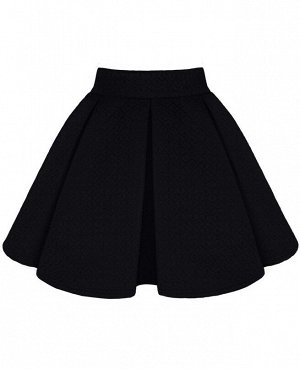 Черная юбка для девочки 78338-ДШ18