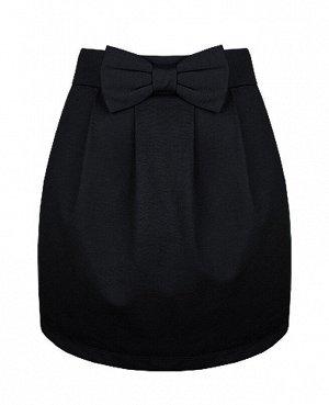 Школьная черная юбка для девочки 78051-ДШ19