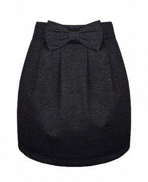 Школьная серая юбка для девочки 78053-ДШ19