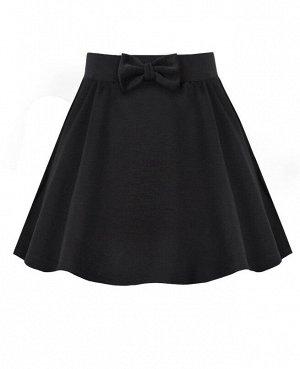 Серая школьная юбка для девочки 79061-ДШ19