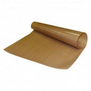 Антипригарный тефлоновый коврик (коричневый) 300 х 400 мм