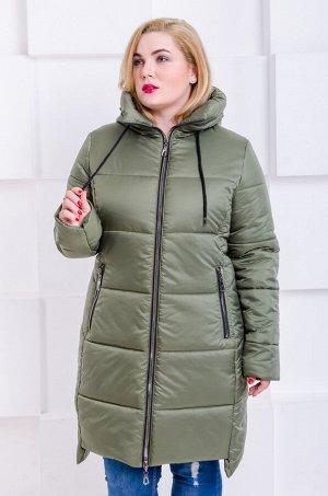 Куртка зимняя Риана хаки