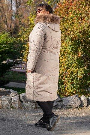 Пальто зимнее длинное Венера