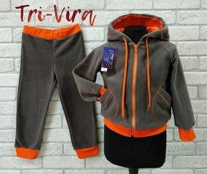 Арт. ФТК3 Флисовый термо-костюм, второй слой, для низкой и средней активности, размер с 86-128