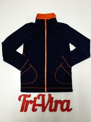 Арт. ТМ1/3 Термо-толстовка с карманами, второй слой, для низкой и средней активности, размер с 86-140
