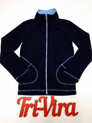 Арт. ТМ1/5 Термо-толстовка с карманами, второй слой, для низкой и средней активности, размер с 86-140