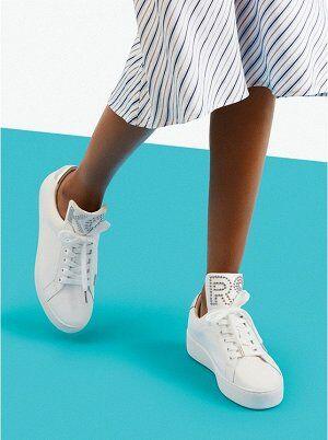 кеды МК дешевле в 2 раза чем в СП!!! Mindy Studded Leather Sneaker