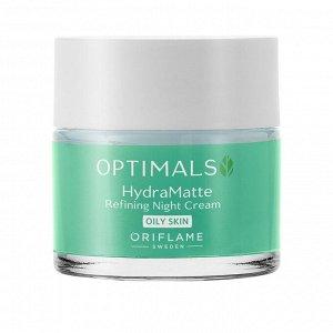 50  мл.* Матирующий ночной крем для жирной кожи Optimals Hydra