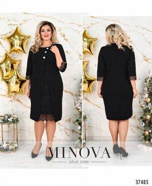 Платье №3302СБ-черный