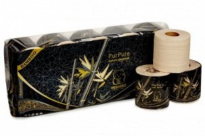 Туалетная бумага INSHIRO 100% Бамбук 10рул*3сл РР-450
