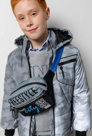 Куртка детская для мальчиков Jagger серый