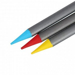 Карандаши акварельные набор 48 цветов, цельнографитовые Koh-i-Noor Progresso Aquarell, в металлическом пенале