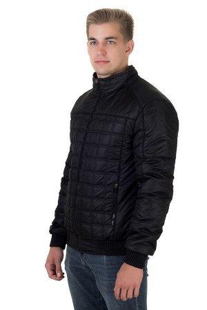Куртка мужская демисезонная Стежка черный (48-58)