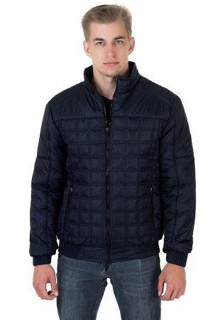 Куртка мужская демисезонная Стежка синий (48-58)