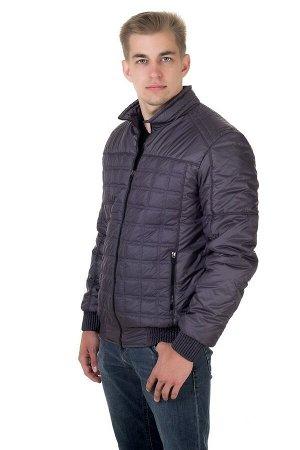 Куртка мужская демисезонная Стежка серый (48-58)