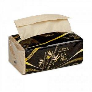 "Салфетки в мягкой упаковке ""INSHIRO"" Pur Pur 100% Bamboo 3-х. сл. (150 шт.) 1/6/72 PP511"